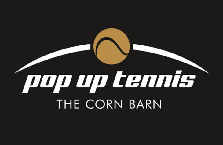 Pop Up Tennis graphic design Gloucestershire