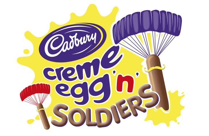 Creme Egg graphic design Gloucestershire