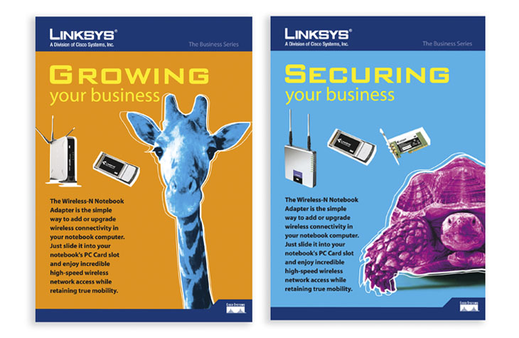 Linksys graphic design Gloucestershire