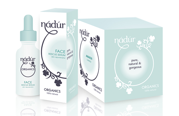 Nadur Organics graphic design Gloucestershire