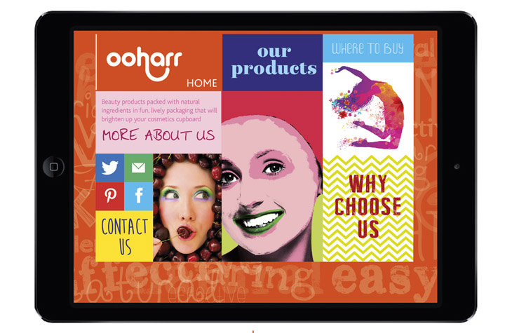 Ooharr graphic design Gloucestershire